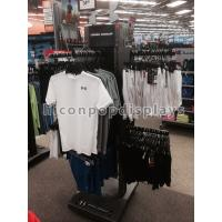 Buy cheap Sportswear Free Standing Clothing Store Fixtures / Display Racks For Retail Stores from wholesalers