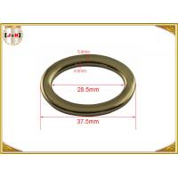 Buy cheap Adjusted Nickel Plated Metal Belt Loops Inner Size 28.5mm Round Shaped from wholesalers