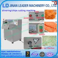 Buy cheap Low consumption potato chips cutting machine cucumber slicer from wholesalers