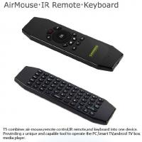 Wholesale Anti Shake Algorithm Android Air Mouse With IR Function Wireless Keyboard from china suppliers