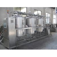 CIP Cleaning System / CIP Washing Equipment For Beverage Beer Dairy Milk Food Industry Manufactures