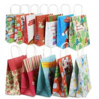 Wholesale Eco Friendly Custom Printed Paper Bags For Christmas Gift Packaging from china suppliers