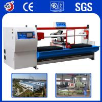 Copper Alloy Resistant Shock / Absorption Jumbo Roll Cutting Machine ±0.1mm Precision Manufactures