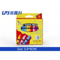 Buy cheap Beautiful Gel Wax Crayons 12 Colors Regular Triangle Wax Crayons from wholesalers