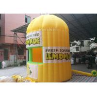 Wholesale Lightweight Inflatable Lemonade Stand One Door And One Window Long Life Span from china suppliers
