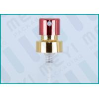 Buy cheap Bright Colorful Perfume Finger Pump Sprayer , Aluminum Fine Mist Pump from wholesalers