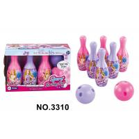Buy cheap Colorful Plastic Indoor Girls Kids Sports Toys Children's Bowling Ball Set product