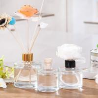 Buy cheap Aroma Decorative Glass Reed Diffuser Bottles , Essential Oil Bottles 50ML 100M from wholesalers
