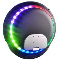 Quality 264WH Powered Gyroscopic Electric Unicycle / Monocycle , Blue Tooth Music Player for sale
