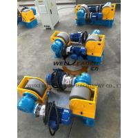 Conventional Steel Rollers Variable Speed Pipe Rotators For Welding Customized 3 Ton Manufactures