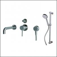 Buy cheap SENTO stainless steel rain shower set wall mounted for bathroom from wholesalers