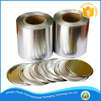 Buy cheap milk powder can packaging lacquer coated aluminum foil sealing lid from wholesalers