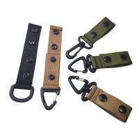 Buy cheap Outdoor Nylon Web Belt Hook Backpack Hanging Swivel Hook Tactical Army Strap from wholesalers