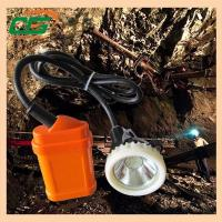 1 Watt 4500Lux LED Rechargeable Mining Hard Hat LED Lights high power headlamp Manufactures