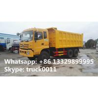 Buy cheap factory direct sale dongfeng teshang 6*4 25tons dump tipper truck with cheapest price,  dongfeng brand dump tipper truck from wholesalers