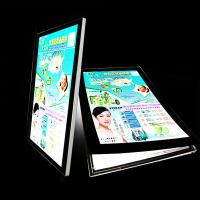 Buy cheap Ultra Slim Acrylic Led Light Box , Single Sided Color Changing Cinema Lightbox from wholesalers