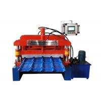 Buy cheap Step Glazed Roof Tile Roll Forming Machine Shaft Diameter ¢70mm 13 Rows Rollers from wholesalers