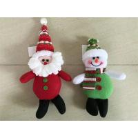 Christmas tree decoration hanging snowman&santa&deer Manufactures