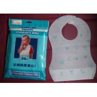 Buy cheap Disposable baby bib from wholesalers