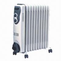 Buy cheap Oil filled radiator with 5 to 15 fins and adjustable thermostat control, wheel for easy movement from wholesalers