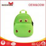 Buy cheap Softback green Baby Toddler Backpack Lovely Hippo Shape 31*27*11.5cm from wholesalers