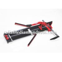 Manual Ceramic Tile Cutter , H Shape Slide Bar Chrome Plated Tile Cutting Tools Manufactures