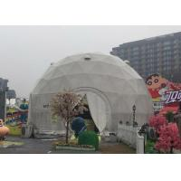China Diameter 6m Geodesic Dome Tent For Party with Q235 Hot Galvanized Steel Tube on sale