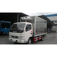 Buy cheap dongfeng duolika stainless steel refrigerated van truck from wholesalers