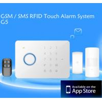 Buy cheap GSM / SMS RFID Touch Alarm System alarm systerm wireless alarm systerm from wholesalers