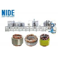 Buy cheap full aotumatic coil winding mahcine stator production line for  three phase washing machine from wholesalers