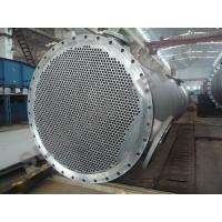 Buy cheap Titanium Clad Shell Tube Heat Exchanger for Propylene Oxide Industry from wholesalers