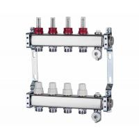 Wholesale Art 700 N+1 Square main tube silver color pex pipe radiant heating manifold from china suppliers