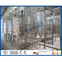 Buy cheap 25000LPH Yoghurt / Cheese / Butter Dairy Processing Plant With SGS ISO 9001 from wholesalers
