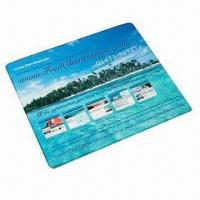 Buy cheap Promotional Mouse Mat, Hardtop PVC/Textile Topped Fabric from wholesalers