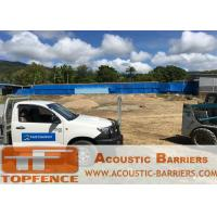 Buy cheap Temporary Acoustic Fencing Design By Acoustic Engineers Light Duty design Easy to assemble and disasemble from wholesalers