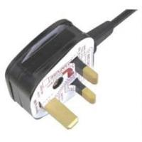 Buy cheap BS Certificate Power Cord|Power Cable UK Style BS Approval from wholesalers