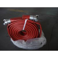 Buy cheap Fire Hose PVC Lining High Working Pressure Hose Customized fire fighting equipments from wholesalers