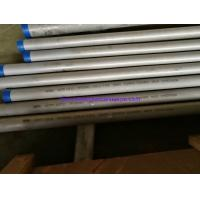 Buy cheap Seamless Stainless Steel Pipe, ASTM A312 TP304H, TP310H,TP316H,TP321H, TP347H Grain Siz Test 1-1/2 SCH40S 6000MM from wholesalers