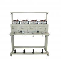Buy cheap Oiling System Grooved Drum Rewinding Machine For Sewing Thread Steel Materials from wholesalers