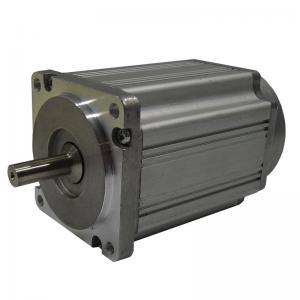 1000 Rpm  - 3000 Rpm 8 Poles 24V Brushless DC Motors , OD 60 mm Square Dc Servo Motor