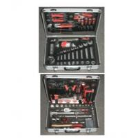 Buy cheap 159 pcs professional tool set,with pliers ,hammer ,wrench ,screwdriver ,knife,sockets. from wholesalers