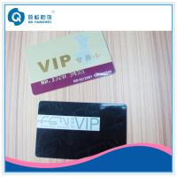 Buy cheap Shop / Club VIP Card Printing Service , Custom Printed Bank Magnetic Card from wholesalers