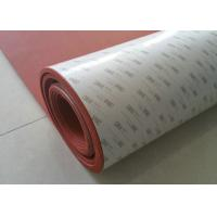 Buy cheap 100% Elongation Silicone Foam Rubber Sheet / 3M Adhesive Backed Rubber Sheets from wholesalers