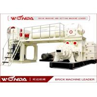 Wholesale Red Sintered Clay Brick Making Machine Vacuum Extruder All Steel Material from china suppliers