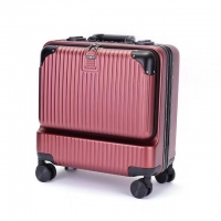 Wholesale Red Spinner Wheels 210D Polyester Business Travel Luggage from china suppliers