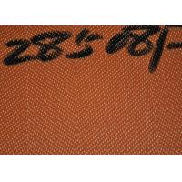 Buy cheap 285081 Polyester Dryer Screen Mesh Desulfurization Filter Cloth Brown Color from wholesalers