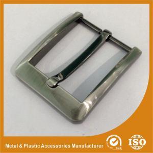 Gunmetal Pin Custom Brass Belt Buckles 40mm Big Belt Buckles GLT-15003