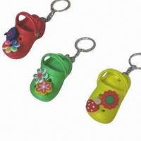 Buy cheap Slippers Keychain, Made of EVA Material from wholesalers
