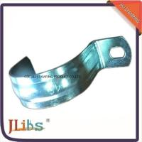 Buy cheap Zinc Galvanized Metal Pipe Clips / Carbon Steel Metal Tube Clamps G Clamp Structure from wholesalers
