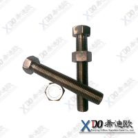 Buy cheap supplying  inconel 601 stainless steel hex bolt and nut factory low prices from wholesalers
